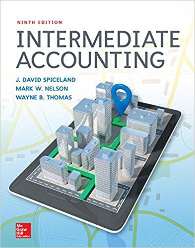 intermediate accounting 9e spiceland nelson thomas instructor rh buy solutions manual com Accounting Books Accounting Books