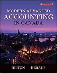 Hilton - Modern Advanced Accounting in Canada