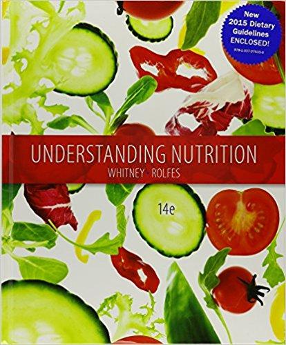 Understanding Nutrition Whitney Pdf