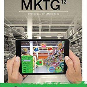 MKTG 12th Edition Charles W. Lamb; Joe F. Hair; Carl McDaniel Test Bank