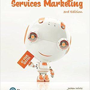 Essentials of Services Marketing, 3E Jochen Wirtz Christopher H. Lovelock Instructor Solution Manual