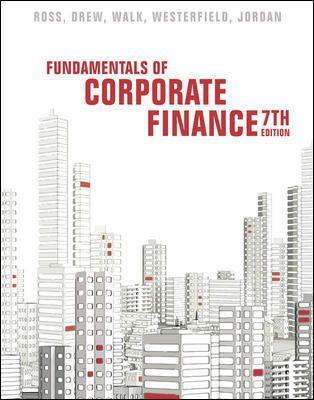 Fundamentals of Corporate FinanceA. Australia , 7e Ross Instructor Solution Manual