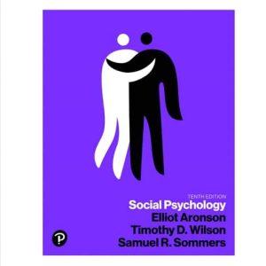 Social Psychology 10E Elliot Aronson , Timothy D. Wilson, Robin M. Akert, Samuel R. Sommers, Test Bank