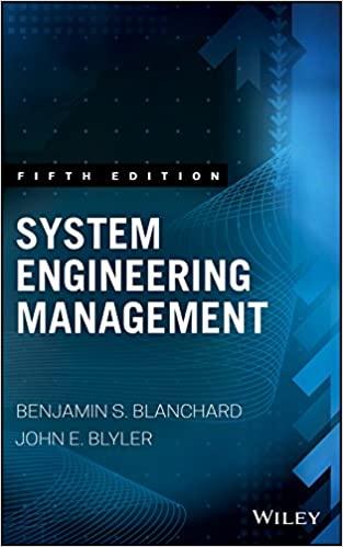 System Engineering Management, 5th Edition by Benjamin S. Blanchard & John E. Blyler Instructor manual
