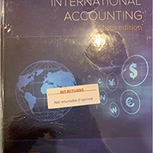 International Accounting, 5e Timothy Doupnik, Hector Perera, Test Bank