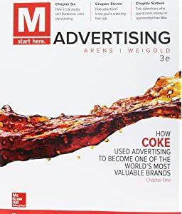 M Advertising, 3e William Arens , David Schaefer, Michael Weigold, Test Bank