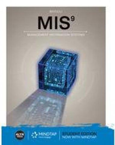 MIS, 9th Edition Hossein Bidgoli Test Bank