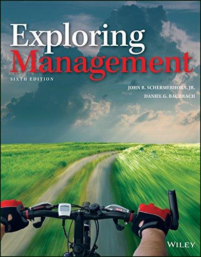 Exploring Management, 6th Edition Schermerhorn, Bachrach Solution Manual Instructor's Manual