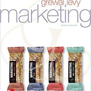 M Marketing, 7e Dhruv Grewal, Michael Levy, 2020 Instructors Solution Manual