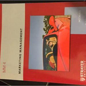 MM4, 4th Edition Dawn Iacobucci Test Bank