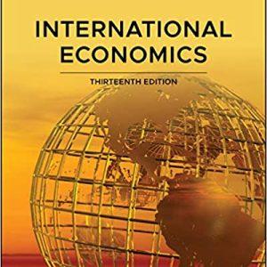 International Economics, 13th Edition Salvatore Solutions Manual